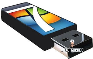 windows 7 vanaf usb
