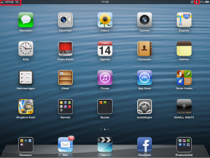 iPad met bluetooth tethering