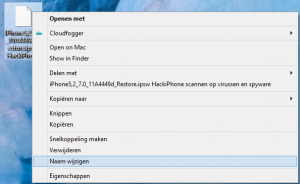 download ios 7 beta 6 bestandsnaam wijzigen