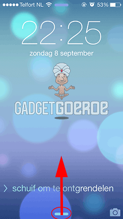 nieuwe features ios 7 controlecentrum 3