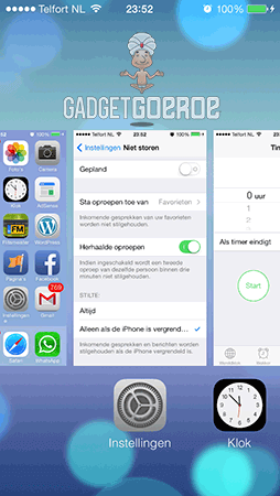 nieuwe ios 7 features multitask