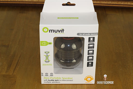 muvit mini portable speaker review home