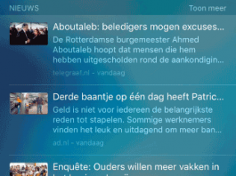 iPhone Spotlight Nieuws Suggesties Uitschakelen